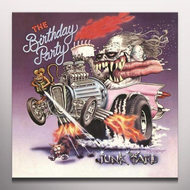 The Birthday Party JUNKYARD Vinyl Record - Limited Edition, Orange Vinyl, Red Vinyl