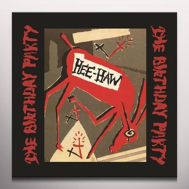 The Birthday Party HEE-HAW Vinyl Record - Limited Edition, Red Vinyl