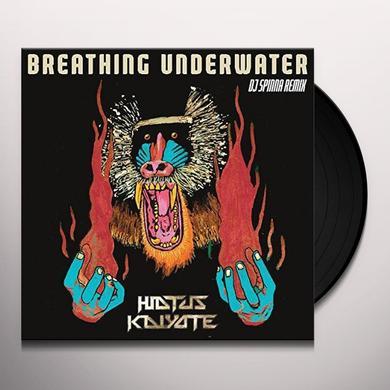 Hiatus Kaiyote BREATHING UNDERWATER (DJ SPINNA GALACTIC SOUL) Vinyl Record