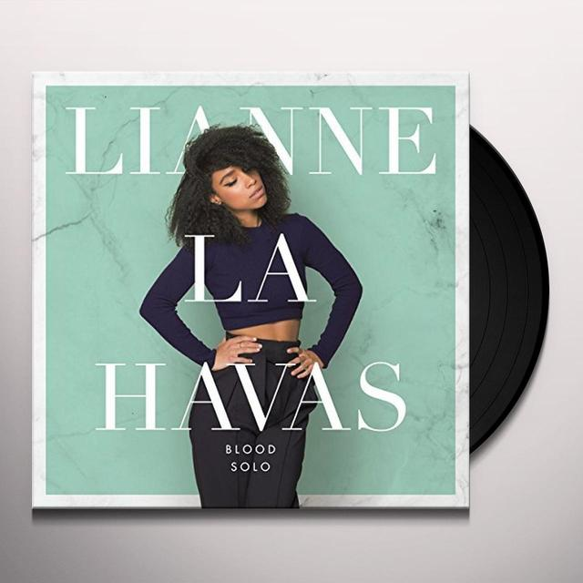 Lianne La Havas BLOOD: SOLO Vinyl Record - UK Import