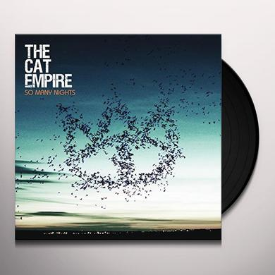 The Cat Empire SO MANY NIGHTS Vinyl Record - UK Import