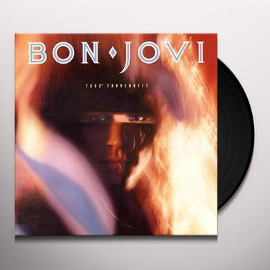 Bon Jovi 7800 DEGREES FAHRENHEIT Vinyl Record - UK Release
