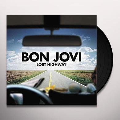 Bon Jovi LOST HIGHWAY Vinyl Record - UK Release