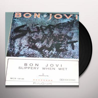 Bon Jovi SLIPPERY WHEN WET Vinyl Record - UK Import