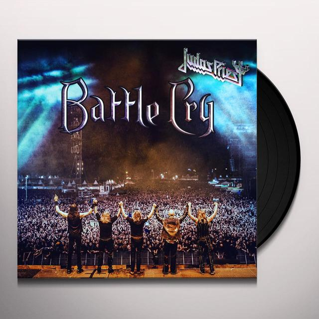 Judas Priest BATTLE CRY Vinyl Record - UK Import