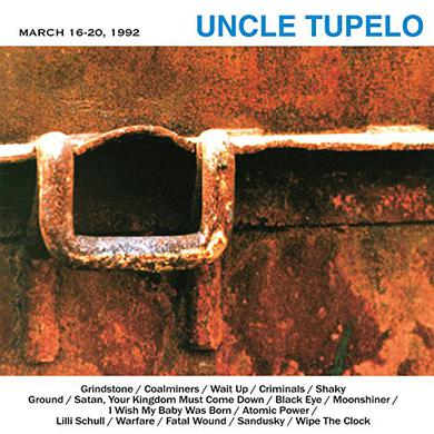 Uncle Tupelo MARCH 16-20 1992 Vinyl Record - Holland Import