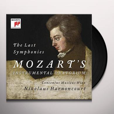 Mozart / Nikolaus Harnoncourt MOZART: SYMPHONIES 39/40/41 Vinyl Record