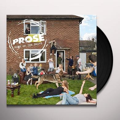 PROSE HOME OF THE BRAVE Vinyl Record - UK Import