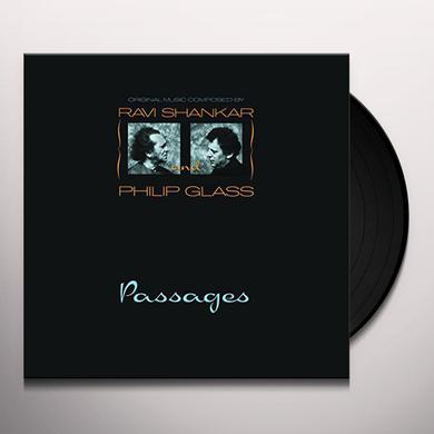 Ravi Shankar / Philip Glass PASSAGES Vinyl Record