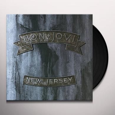 Bon Jovi NEW JERSEY Vinyl Record - UK Release