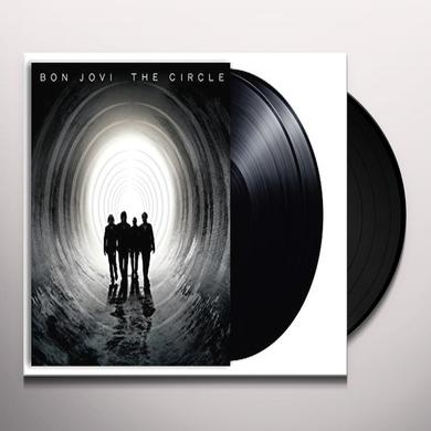 Bon Jovi CIRCLE Vinyl Record - UK Release