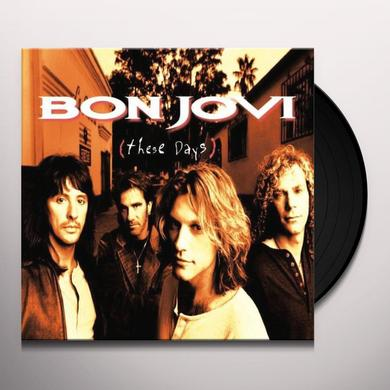 Bon Jovi THESE DAYS Vinyl Record - UK Release