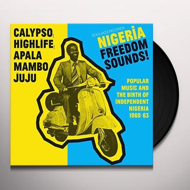 Soul Jazz Records Presents NIGERIA FREEDOM SOUNDS Vinyl Record