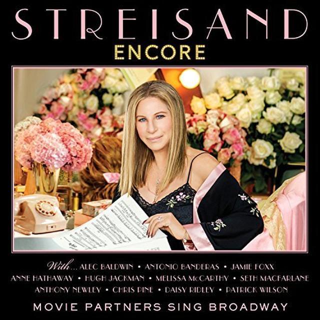 Barbra Streisand ENCORE: MOVIE PARTNERS SING BROADWAY (DLI) Vinyl Record