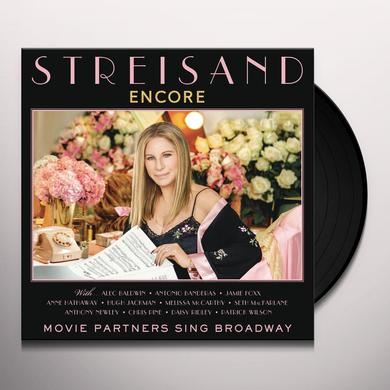 Barbra Streisand ENCORE: MOVIE PARTNERS SING BROADWAY Vinyl Record