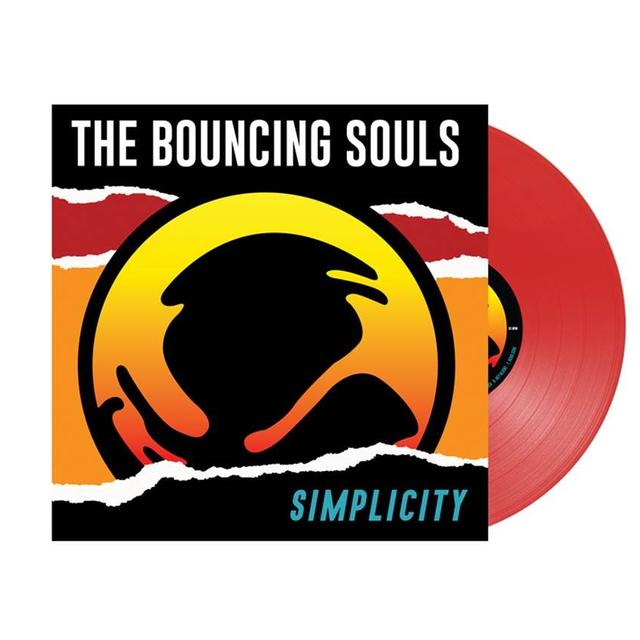 Bouncing Souls SIMPLICITY Vinyl Record - Colored Vinyl, Gatefold Sleeve, Limited Edition, Red Vinyl, Poster, Digital Download Included