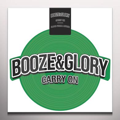 Booze & Glory CARRY ON Vinyl Record - Green Vinyl, White Vinyl