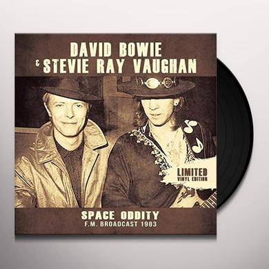 Stevie Ray Vaughan / David Bowie SPACE ODDITY Vinyl Record