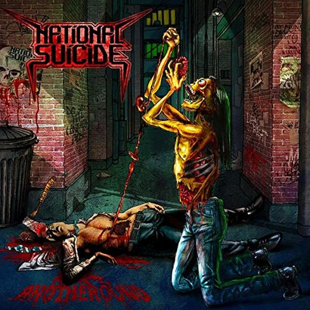NATIONAL SUICIDE ANOTHEROUND Vinyl Record