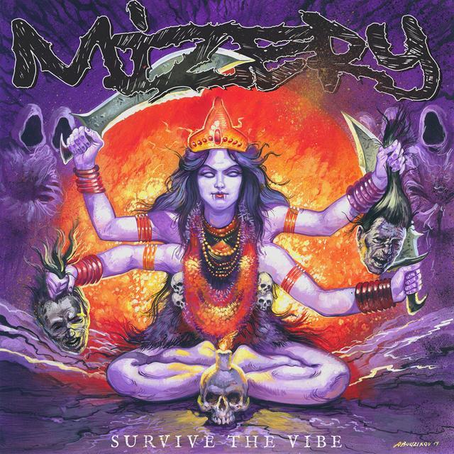 Mizery SURVIVE THE VIBE Vinyl Record