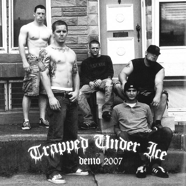 Trapped Under Ice DEMO 2007 Vinyl Record
