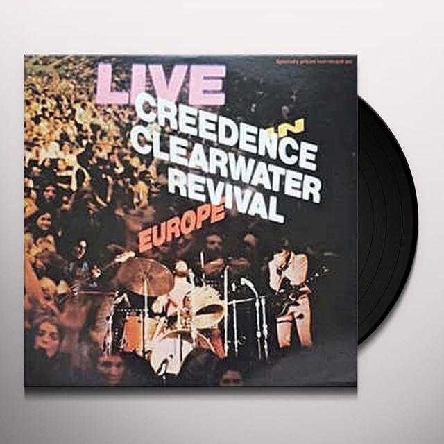 ccr creedence clearwater revival live in europe vinyl record. Black Bedroom Furniture Sets. Home Design Ideas