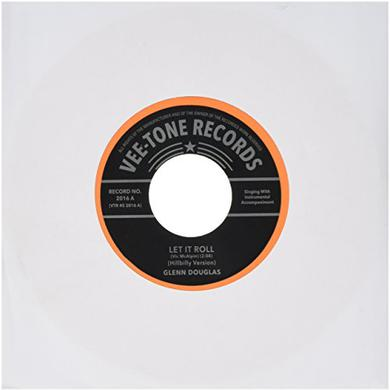 Glenn Douglas LET IT ROLL (BOPPIN HILLBILLY) / LET IT ROLL Vinyl Record