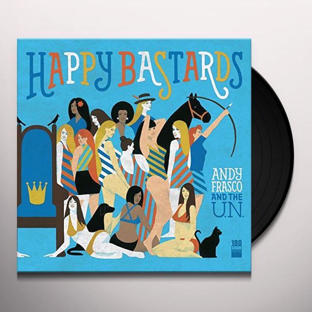 Andy Frasco & The U.N. HAPPY BASTARDS Vinyl Record - UK Import