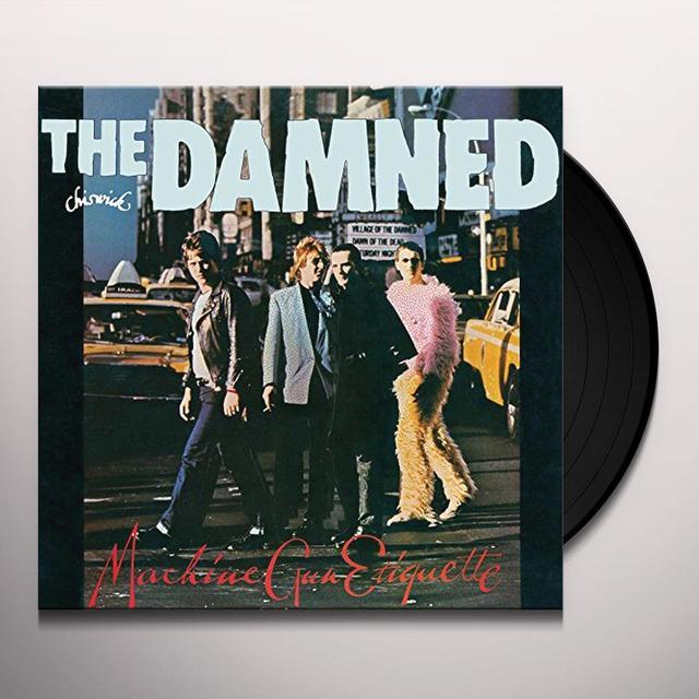 Damned MACHINE GUN ETIQUETTE Vinyl Record - UK Import