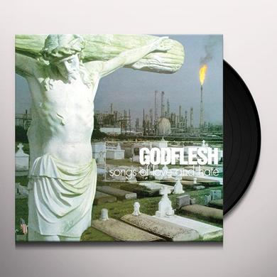 Godflesh SONGS OF LOVE & HATE Vinyl Record - UK Import
