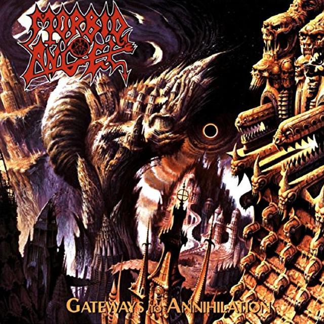 Morbid Angel GATEWAYS TO ANNIHILATION Vinyl Record - UK Import