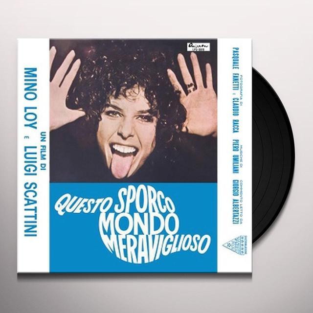 Piero Umiliani QUESTO SPORCO MONDO MERAVIGLIOSO / O.S.T. Vinyl Record - w/CD