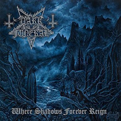 Dark Funeral WHERE SHADOWS FOREVER REIGN   (GER) Vinyl Record - Clear Vinyl, Gatefold Sleeve