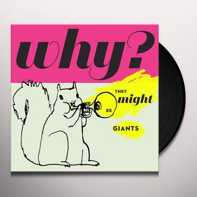 They Might Be Giants WHY Vinyl Record