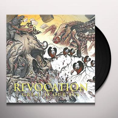 Revocation GREAT IS OUR SIN Vinyl Record