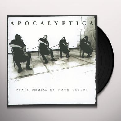 Apocalyptica PLAYS METALLICA BY FOUR CELLOS Vinyl Record - Remastered