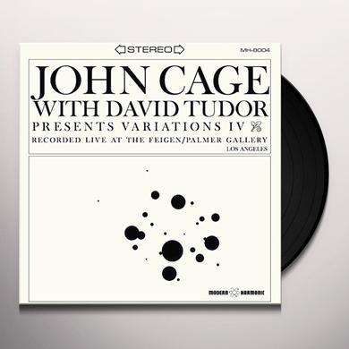 John Cage / David Tudor VARIATIONS IV Vinyl Record