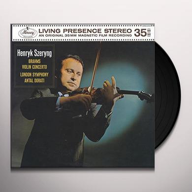 BRAHMS / SZERYNG / DORATI / LONDON SYMPHONY ORCH VIOLIN CONCERTO IN D Vinyl Record