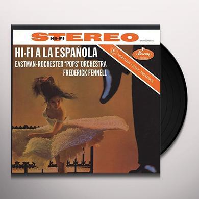 FENNELL / EASTMAN-ROCHESTER POPS ORCHESTRA HI-FI A LA ESPANOLA Vinyl Record - 180 Gram Pressing
