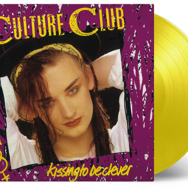 Culture Club KISSING TO BE CLEVER Vinyl Record - 180 Gram Pressing