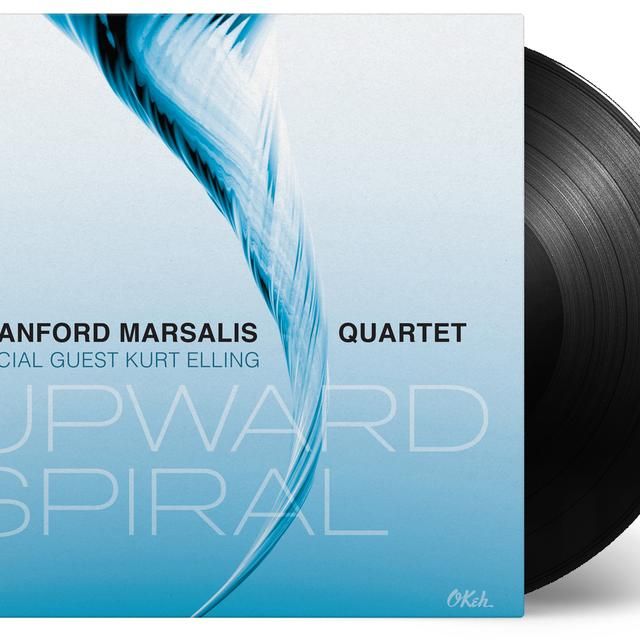 Branford Marsalis / Kurt Elling UPWARD SPIRAL Vinyl Record - Gatefold Sleeve, 180 Gram Pressing