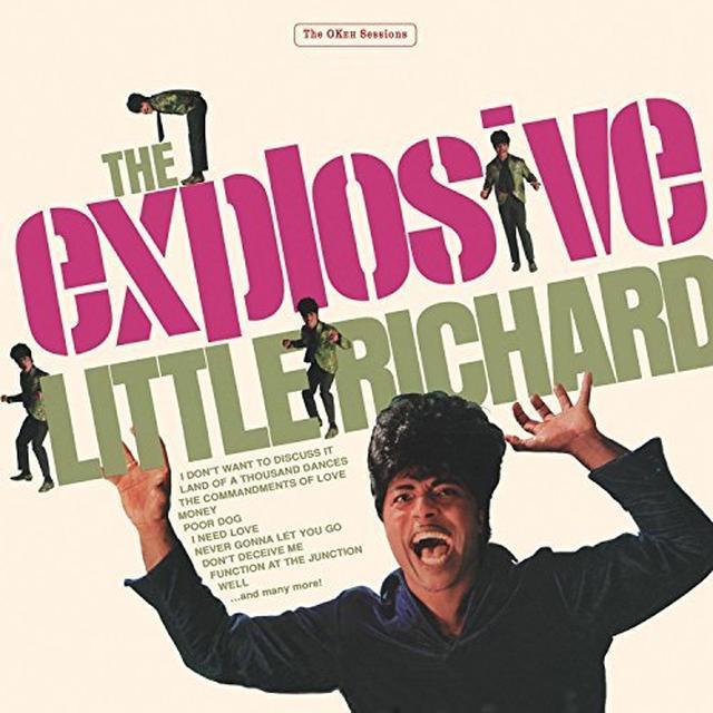 EXPLOSIVE LITTLE RICHARD Vinyl Record