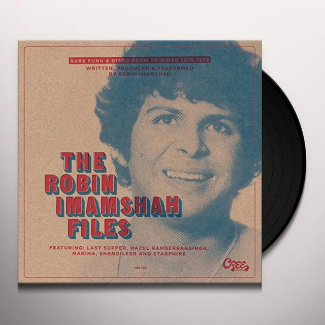 ROBIN IMAMSHAH FILES / VARIOUS Vinyl Record - Limited Edition