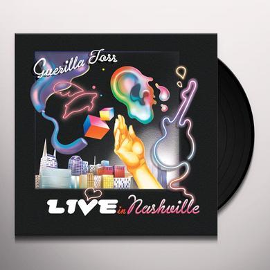 GUERILLA TOSS LIVE IN NASHVILLE Vinyl Record