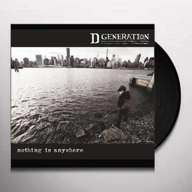 D Generation NOTHING IS ANYWHERE Vinyl Record