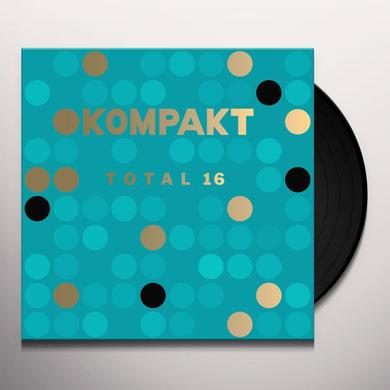 KOMPAKT TOTAL 16 / VARIOUS Vinyl Record