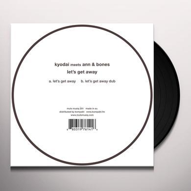 KYODAI MEETS ANN & BONES LET'S GET AWAY Vinyl Record