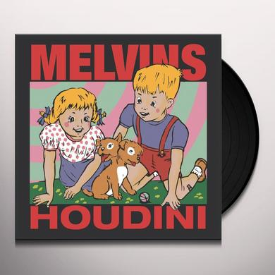 Melvins HOUDINI (BONUS TRACK) Vinyl Record - Gatefold Sleeve, 180 Gram Pressing