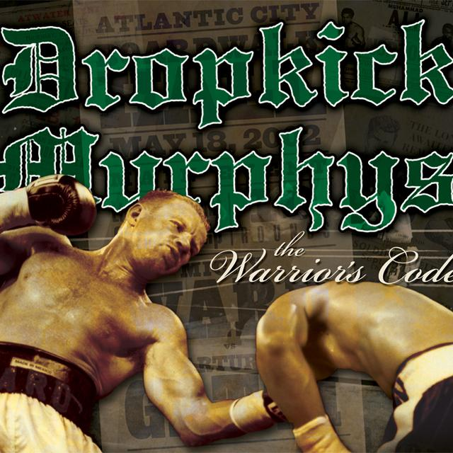 Dropkick Murphys WARRIOR'S CODE Vinyl Record - Brown Vinyl