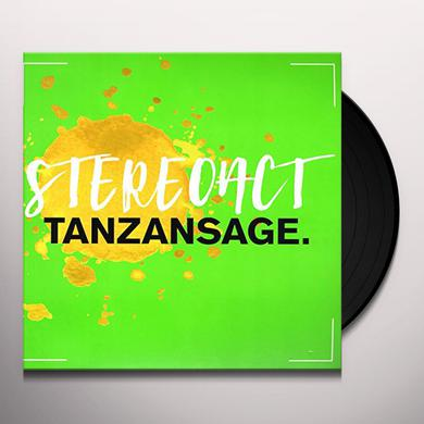 Stereoact TANZANSAGE   (GER) Vinyl Record - w/CD, Limited Edition